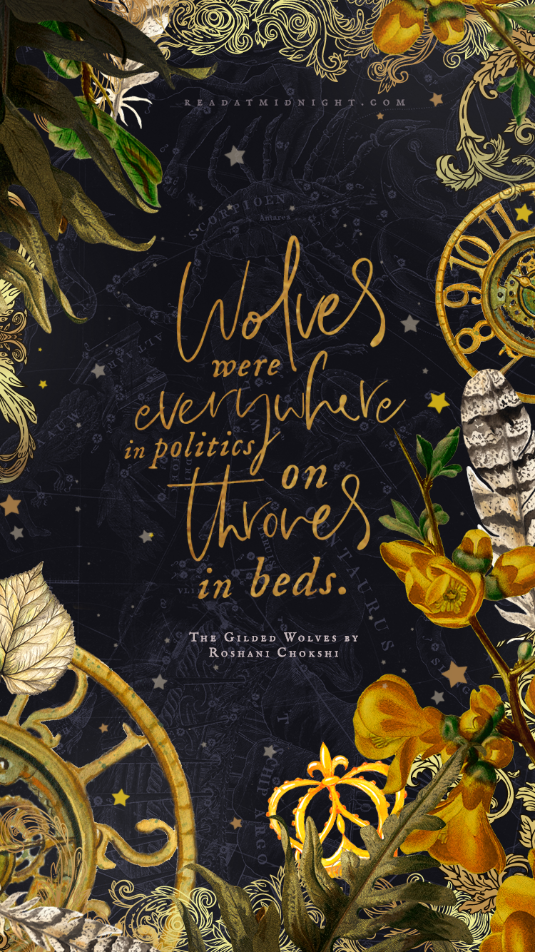 Midnight Designs: The Gilded Wolves – Read at Midnight